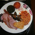 Cerdyn Villa, full welsh breakfast, wholesome locally sourced produce