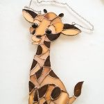 very special birthday gift for a giraffe lover